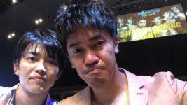 6/19(水)「ボクシング世界大会」DAICHI・KENZO観覧@幕張メッセ